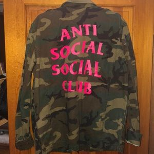 Anti Social Social Club Camo Jacket